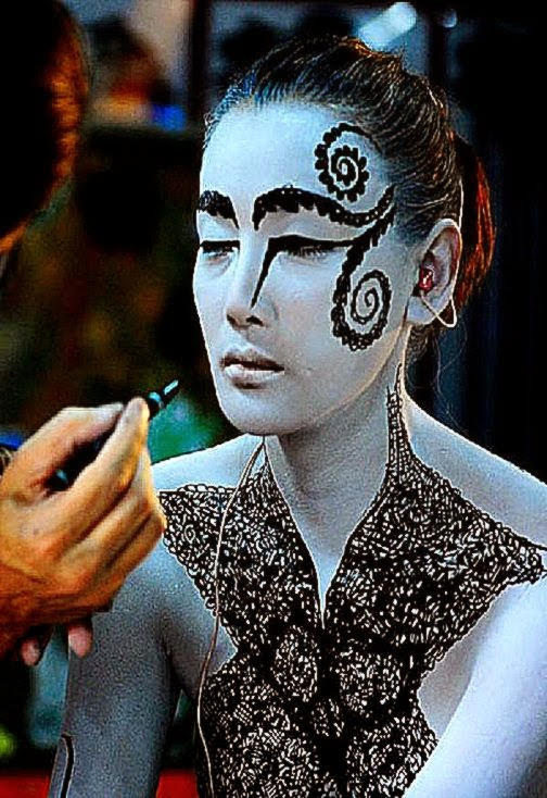 International Body Art Competition On Thailand