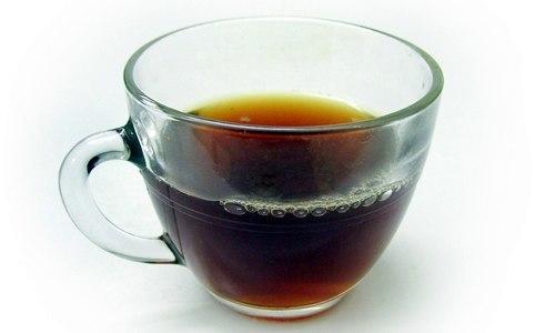 merebus daun sukun menjadi teh herbal