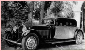 Bugatti 1929 Type 41 Royale coach Weymann
