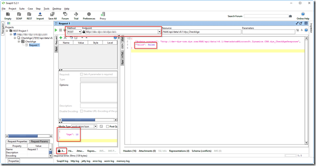Calling Dynamics CRM 2016 actions using the Web API (from