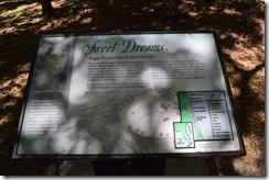 Ruins information plaque