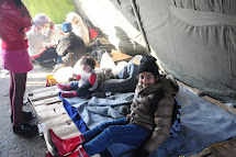 Refugee aid on Serbian-Croatian border, 19.- 21.10. 2015