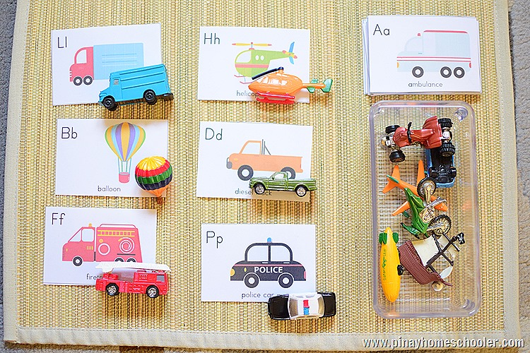 Transportation Unit: FREE A to Z Vehicle Cards