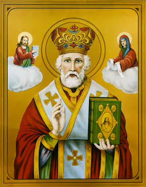 What is st nicholas the patron saint of