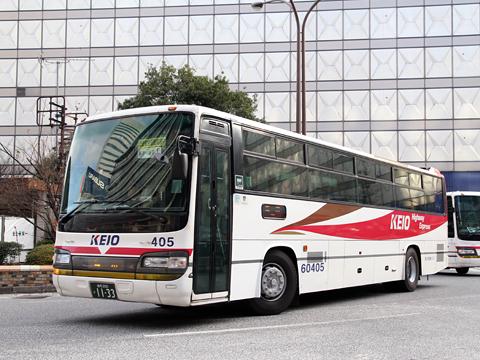 京王電鉄バス「中央高速バス飯田線」 60405 新宿にて