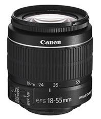 Lensa zoom standar