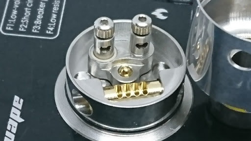 DSC 3879 thumb%255B2%255D - 【RDA】「HCigar MAZE V3 RDA」レビュー。(エイチシガー・メイズブイスリーRDA)驚異のシングルビルド&エアフロー調整機構つきドリッパー!!DLフレーバーチェイス向け22mmサイズでPicoにも搭載可能!【電子タバコ/VAPE/爆煙】