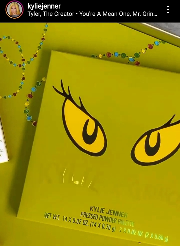 Kylie Jenner's New Grinch X Collection