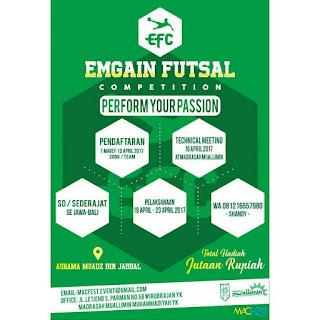 Emgain Futsal Competition
