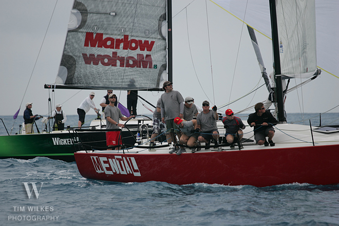 J/111s finishing at Key West Race Week