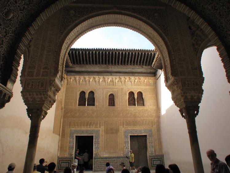 Archway in La Alhambra, Granada