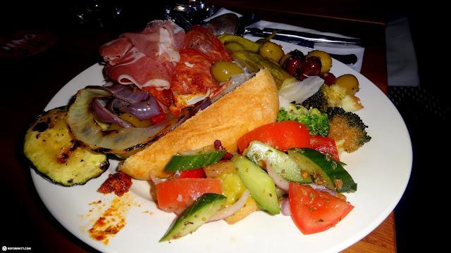 delicious food at copacabana in Toronto, Ontario, Canada
