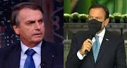"""Bolsonaro chama Doria de """"moleque"""" e """"calcinha apertada"""" e Datena fica em silêncio"""