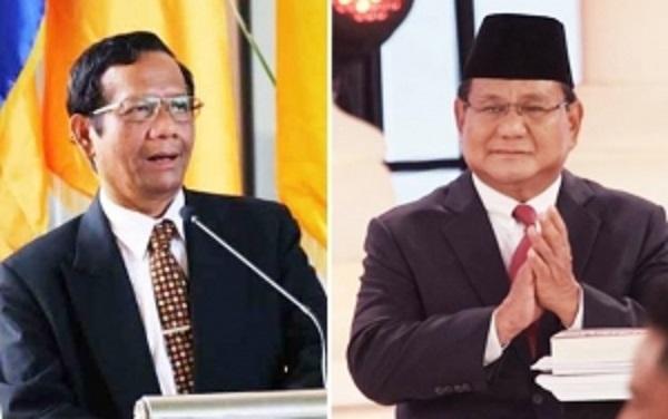 Mahfud MD-Prabowo Ribut?