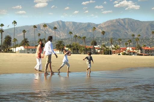 The Secret to Big Fun in Santa Barbara for Very Little Money. At Goleta Beach