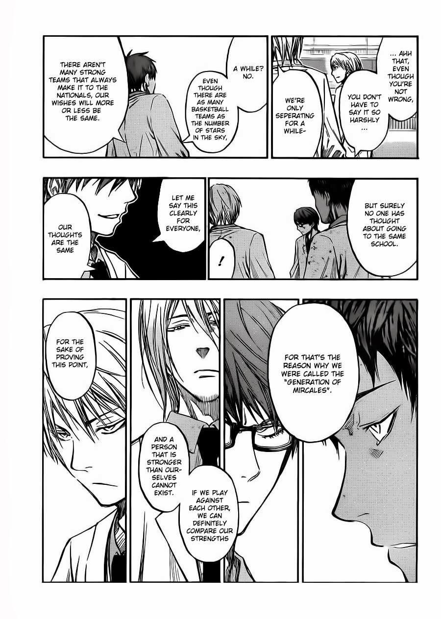 Kuroko no Basket Manga Chapter 227 - Image 17