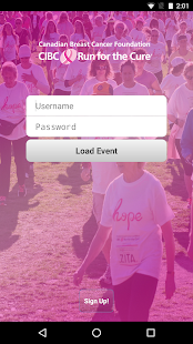 CIBC Run for the Cure- screenshot thumbnail