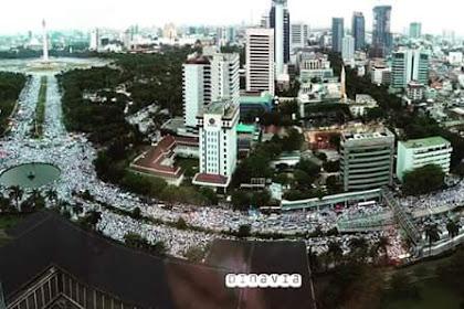 Sepanggung dengan Presiden, Habib Rizieq Berteriak Tangkap Ahok! Reaksi Jokowi...