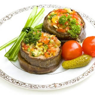 Vegetable Marrows Stuffed With Meat.
