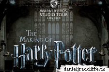 Warner Bros Studio Tour London launches website