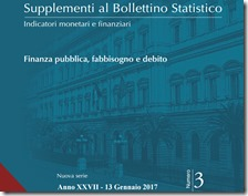 Supplementoal Bollettino Statistico. Gennaio 2017