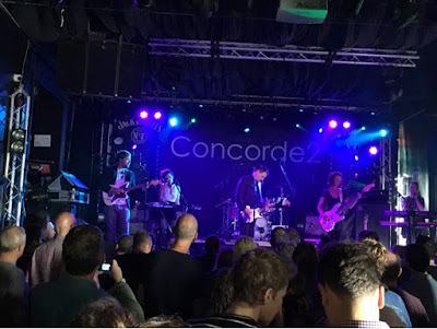 Cinerama perform on stage at Concorde 2 Brighton