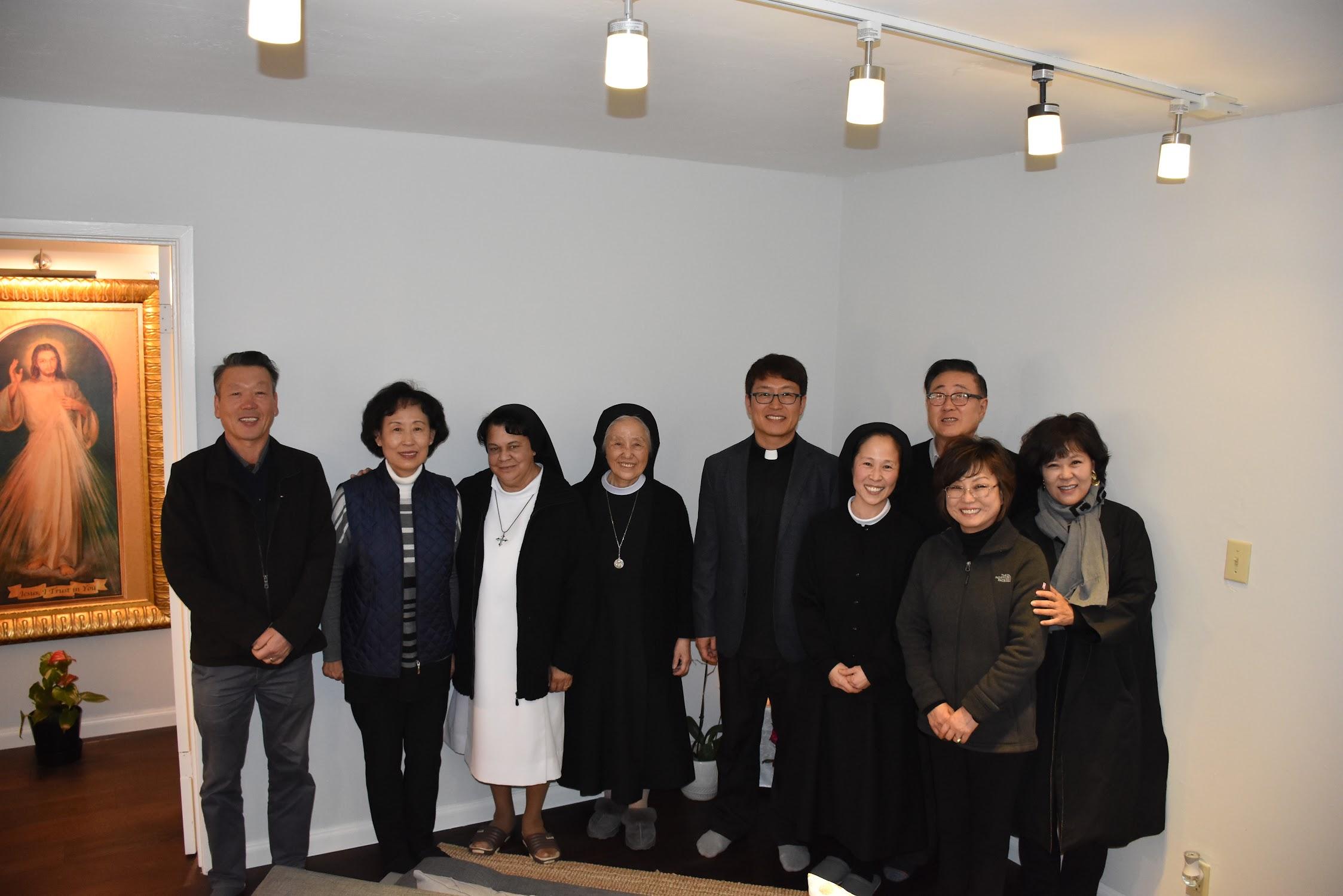 영원한 도움의 성모 수녀원 버클리 분원 축복식 2018년 11월 11일