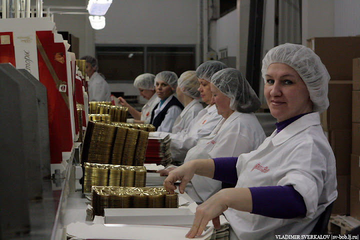 Так делается шоколад. Россия - щедрая душа!