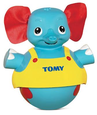 Chú voi lật đật Tap n Toddle Elephant Tomy