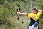 Foto Marius NortjeEen van die Suid Afrkaanse vroue span boogskuts Jenny Wittstock van Edenvale hetook aan die kompetisie deelgeneem.