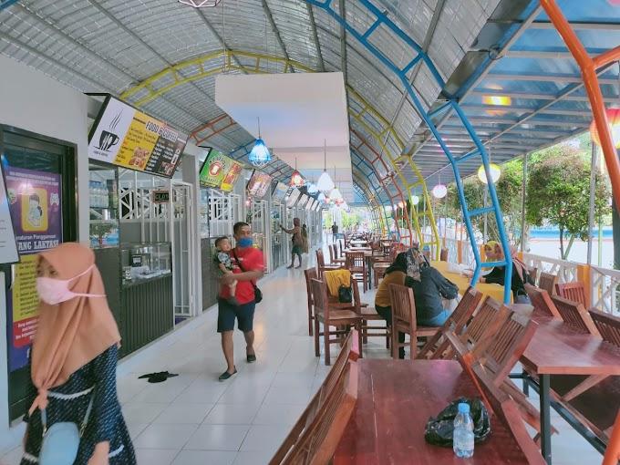 Sempat Molor SIWALK Food Court Kotabaru Diresmikan Bupati