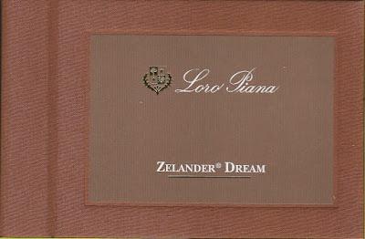 Loro Piana - Zelander Dream €1100/-