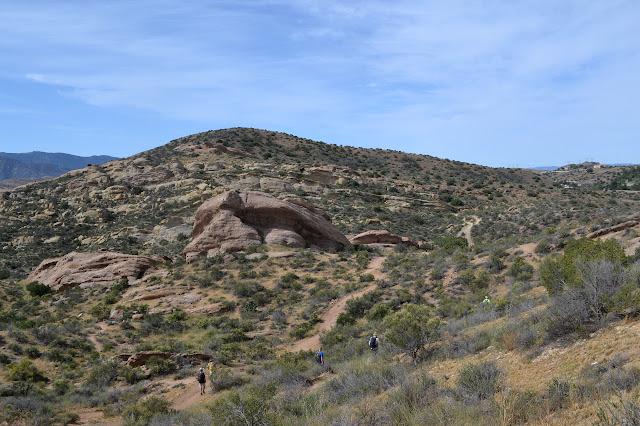 rocks on a hillside