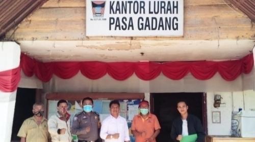 Ilham Maulana Minta Pemko Siapkan Lahan Untuk Pembangunan Kantor Lurah Pasa Gadang.