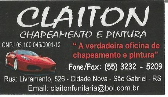 Chapeamento Claiton