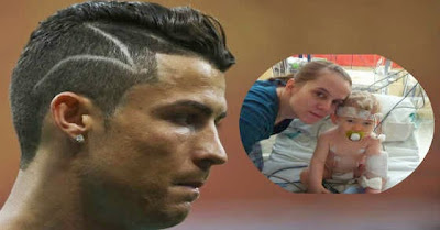 Cabelo De Cristiano Ronaldo Foi Criticado Por Muitos. A Razão Por Detrás Vai Emocionar-te.