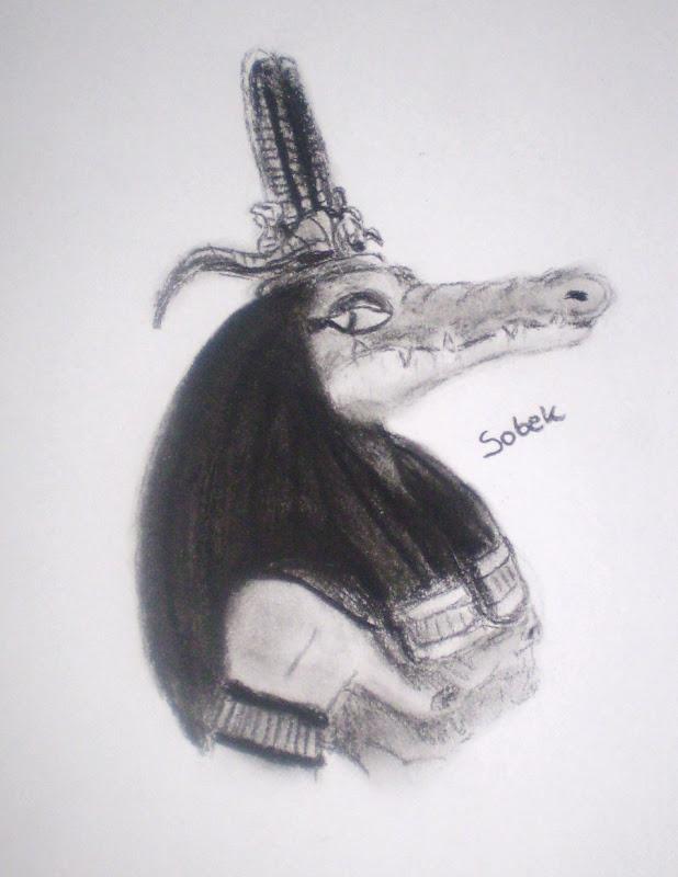 Egyptian Gods Sobek By Seth, Egyptian Magic