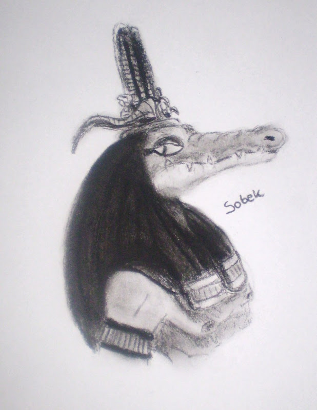 Egyptian Gods Sobek By Seth, Egyptian Magic