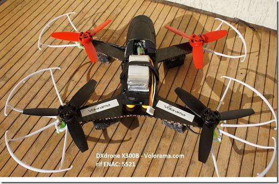dxdrone x300b volorama 2
