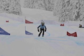 BC Winter Games K1 Ski Rodeo Run 2, Feb 25 2012 - Dickson Wong