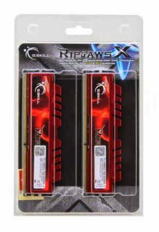 G.SKILL Ripjaws X Series 32GB (4 x 8GB) 240-Pin SDRAM DDR3 1600 (PC3 12800) Desktop Memory F3-12800CL10Q-32GBXL