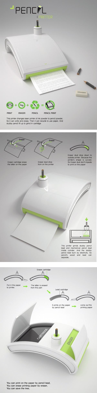 Pencil Printer Concept