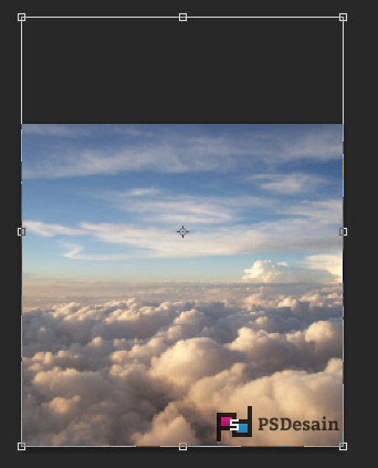 Membuat background awan