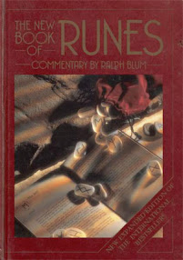 Cover of Ralph Blum's Book The New Book Of Runes