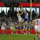 North Melbourne v Fremantle Round 16 2017