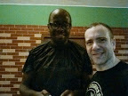 Sifu Kola Fajimolu and Andy Cunningham.