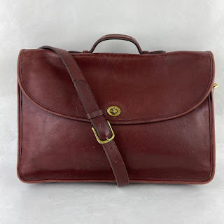 Coach Burgundy Attache