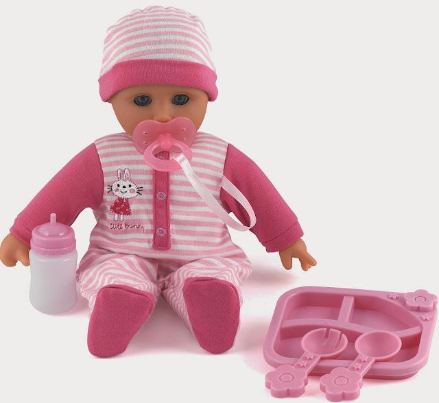 Em bé Phoebe Dolls World 8726 có thể phát ra tiếng cười, tiếng khóc hay gọi