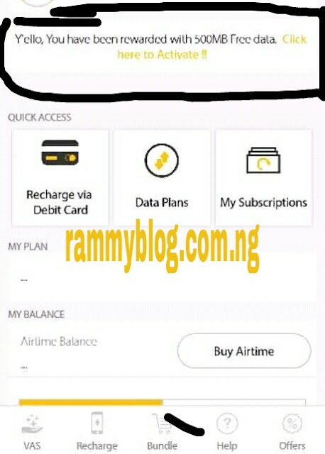 DOWNLOAD MyMTN APP And Get Free 500MB DATA - RammyBlog
