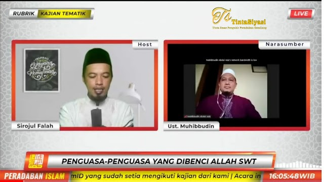 Ustaz Muhibuddin Beberkan Tanda-Tanda Pemimpin yang Dimurkai Allah